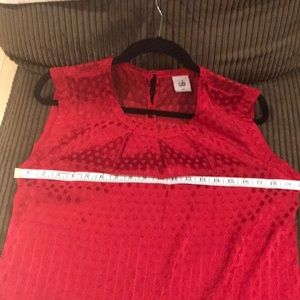 CAbi Tops - Red cabi blouse